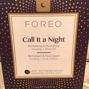 New In Box 7 FOREO Call it a Night Masks
